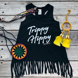 Trippy Hippy Fringe Dress