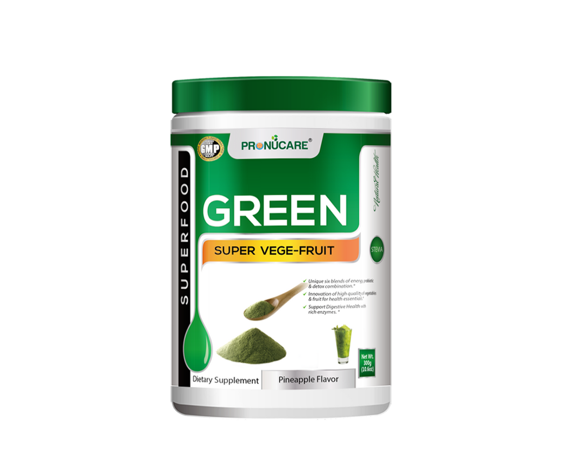 Green SuperVegeFruit