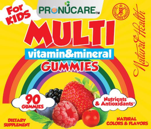 Children Chewable Multivitamins Gummies x 3