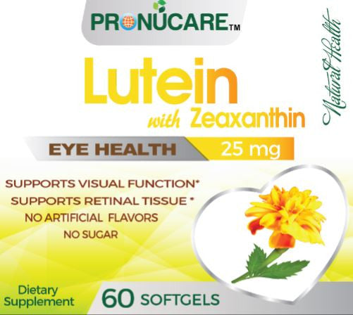 Lutein with Zeaxanthin Isomers x 3