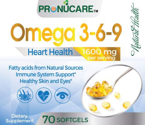 Pronucare Omega 3 6 9 X 3 Herbalessentials