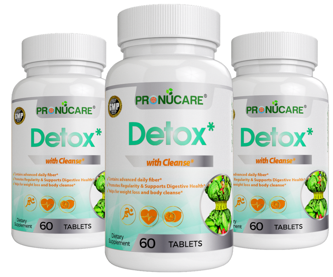 Detox with body Cleanse x 3