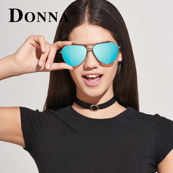 Donna Sunglasses Classic Polarized Pilot Sunglasses