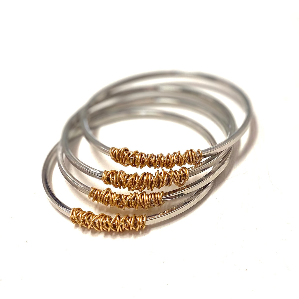Twisted Times Bangle