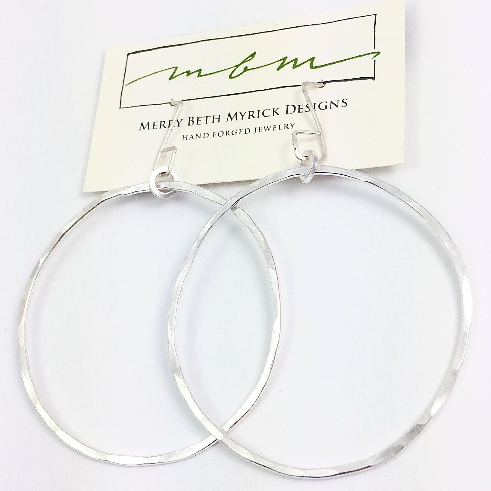 Big Betty Hoops (sterling or gold-filled)