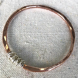 Twisted Betty Bangle Copper