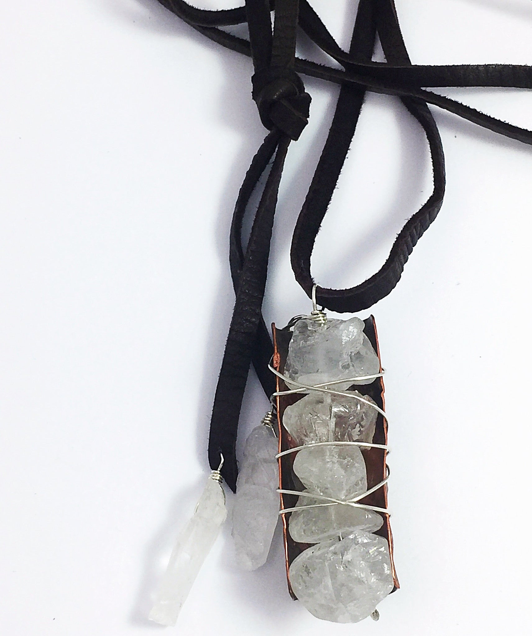 Embrace Quartz Necklace