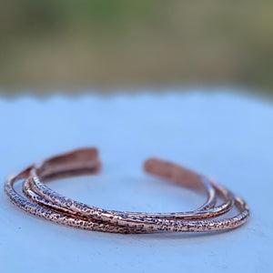 Men's Tough Gets Going Bracelet in Copper