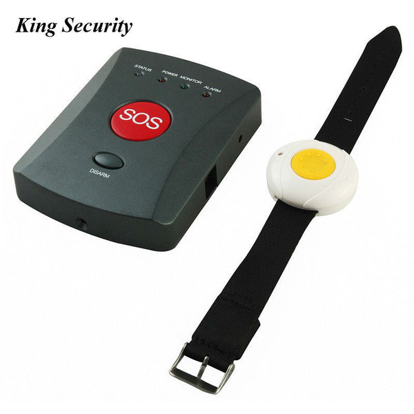 Mobility Stuff Wireless Wristband with SOS Panic Button For Children and Elderly