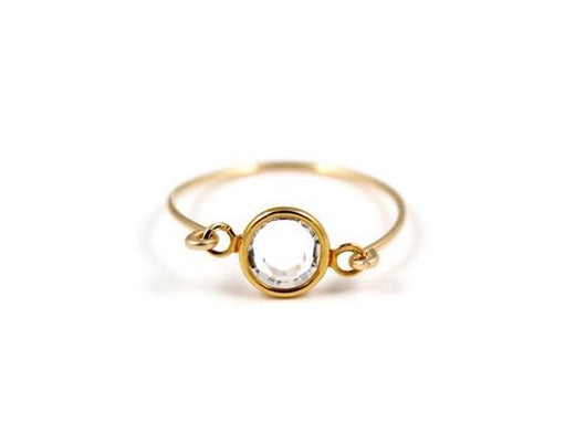 Birthstone Ring - April