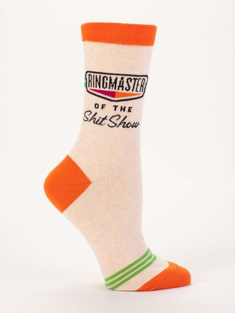Ringmaster of the Sh!tshow Crew Socks