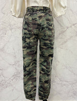 Reign Washed Camo Print Joggers