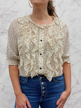 Gillian Blouse in Cream