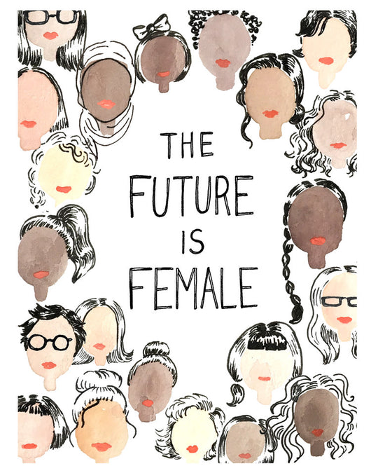 Future is Female 11x14 Print