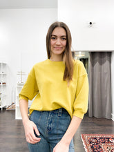 Load image into Gallery viewer, Gianna Crewneck in Mustard