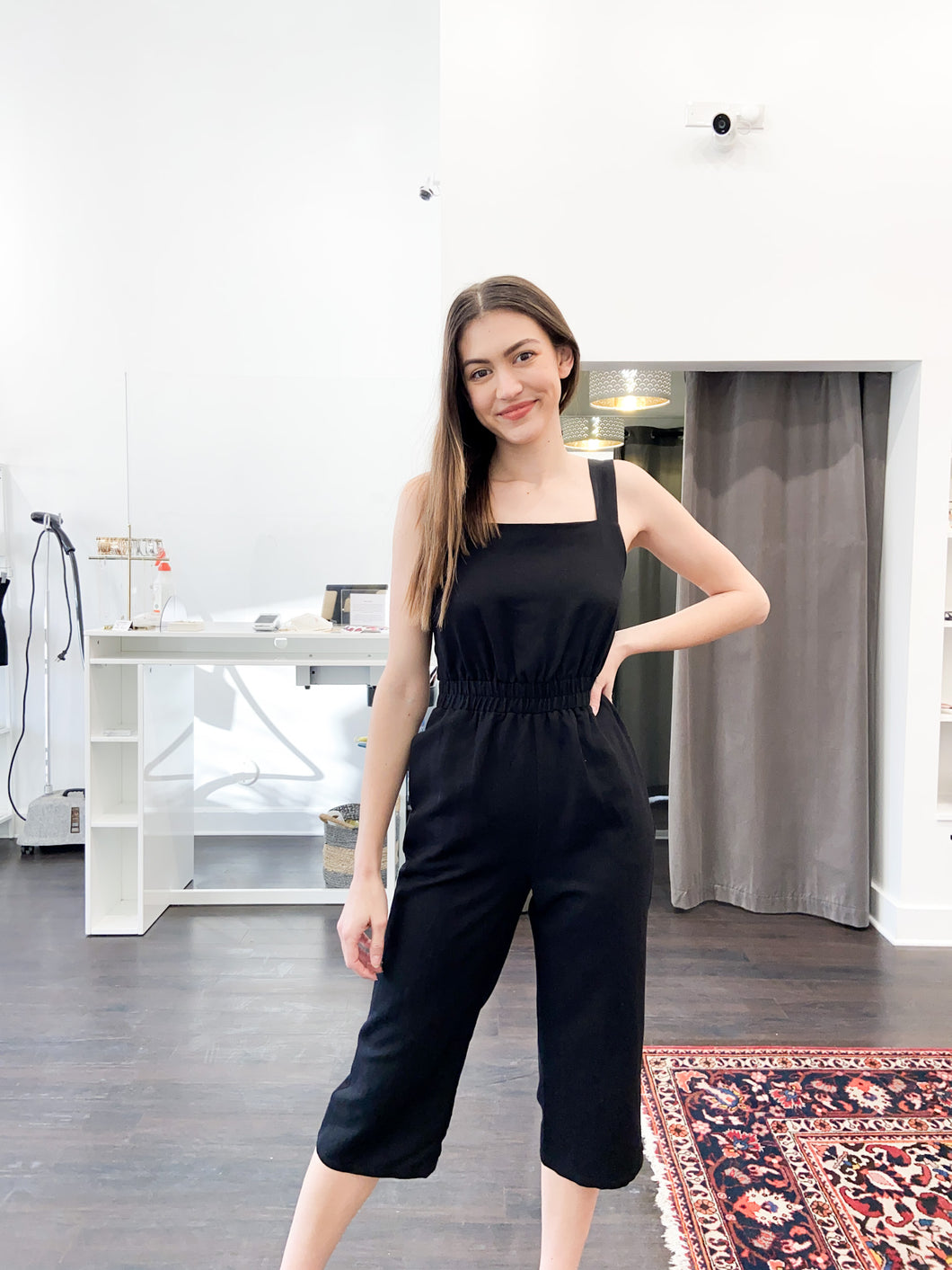 Hayleigh Jumpsuit in Black