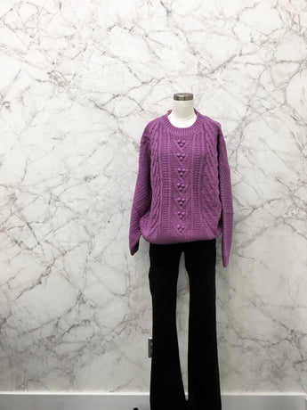 Manhattan Sweater in Lilac