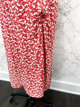Mai Slipdress in Red Floral