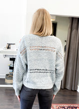Load image into Gallery viewer, Selene Sweater in Dusty Blue
