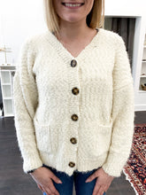 Load image into Gallery viewer, Rasia Cardigan in Cream