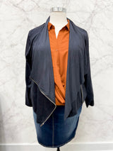 Maxwell Jacket in Inkwell