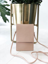 Cell Phone Crossbody in Blush