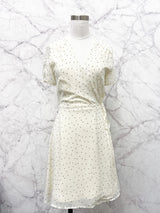 Reina Dress in Cream Dots - FINAL SALE