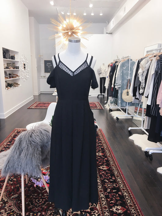 Betty Jumpsuit in Black