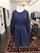 Arizona Dress in Navy