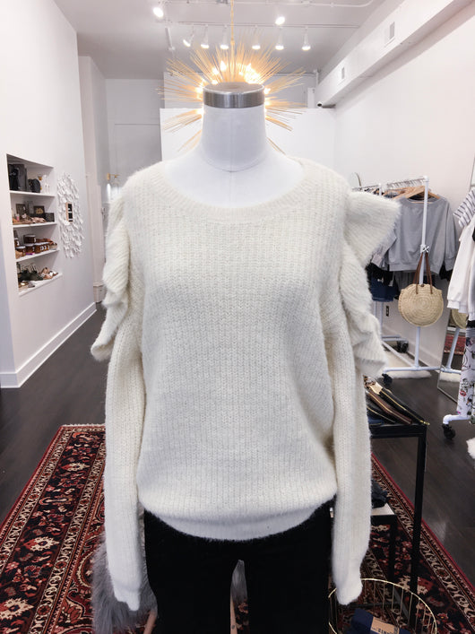 Cassandra Sweater in Soft Cream