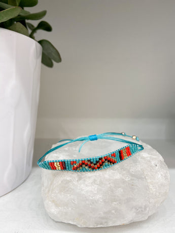Turquoise Multi Beaded Bracelet