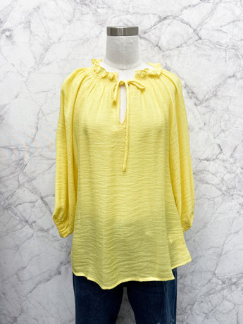 Sofia Blouse in Yellow
