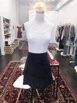 As If Skirt in Navy Courduroy