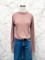 Brianne Top in Blush