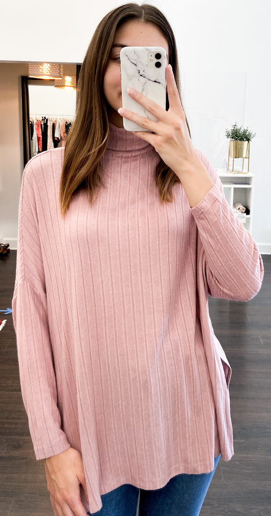 Amy Top in Rose Pink