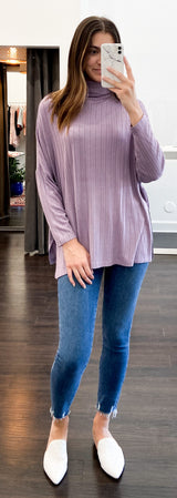 Amy Top in Lilac