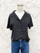 Carpenter Top in Black