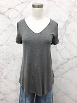 Everyday Short Sleeve Tee in Charcoal