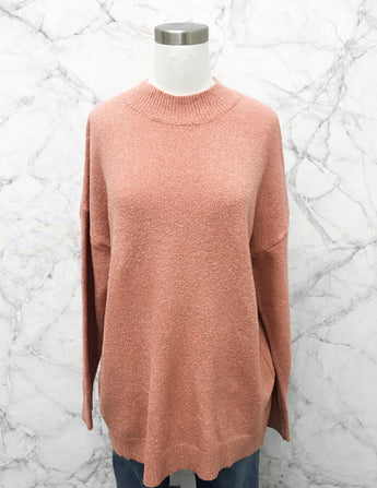 Mikay Sweater in Salmon