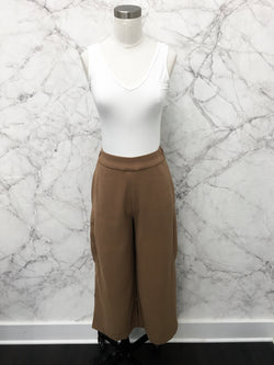 Best Ever Wide Leg Trousers in Camel