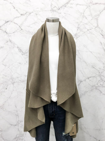 Our Most Favoritest Taupe Shrug