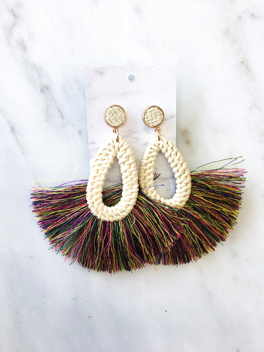 Positano Earrings in Multi