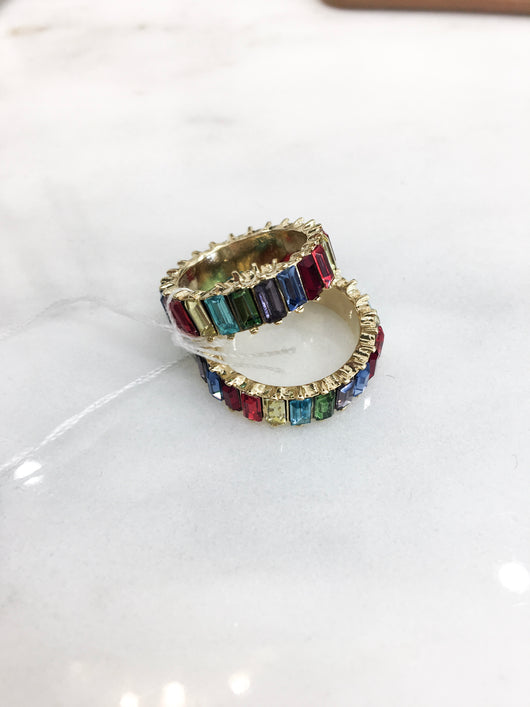 Highness Ring in Rainbow - FINAL SALE