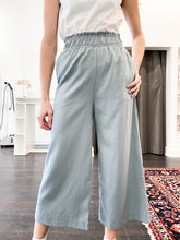 Load image into Gallery viewer, Nevada Wide Leg Pants in Dusty Blue