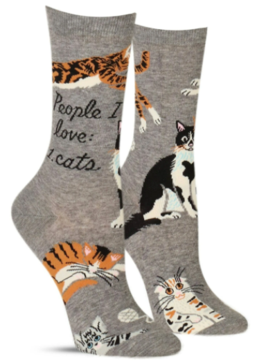 People I Love: Cats, Socks