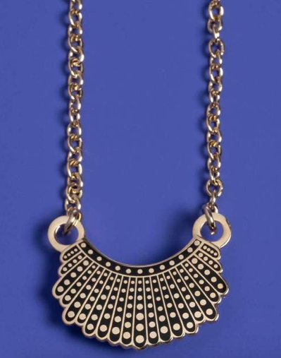 Dissent Collar Necklace - 24k Gold Plated