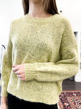 Load image into Gallery viewer, Boulder Sweater in Yellow Multi - FINAL SALE