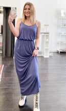 Load image into Gallery viewer, Miriam Maxi Dress in Blue