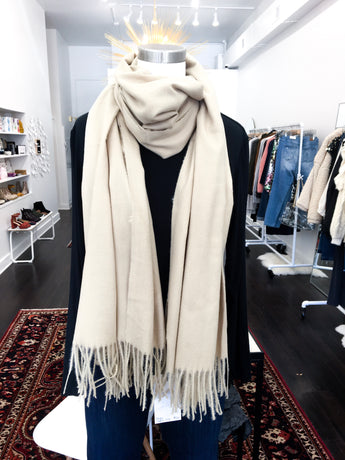 Super Soft Scarf in Taupe