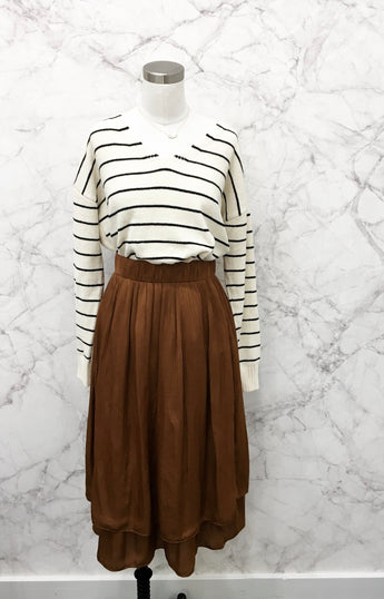 Florence Skirt in Rust - FINAL SALE